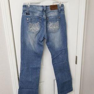 Adiktd rhinestone Jeans